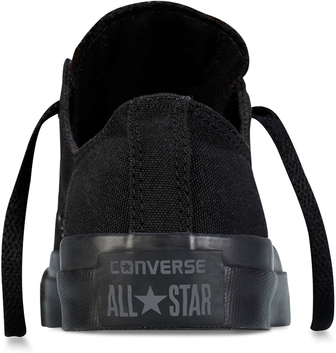 03b96521550 bol.com | Converse Chuck Taylor All Star Sneakers Laag Unisex - Black  Monochrome - Maat 42