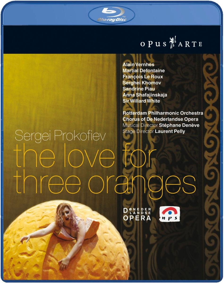 Image result for prokofiev: the love for three oranges