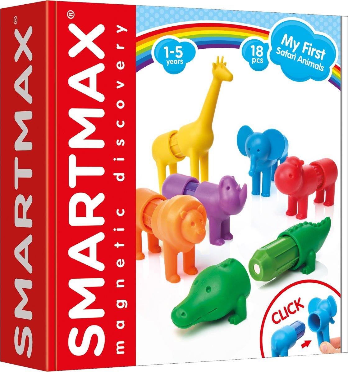 Smartmax My First Safari Animals Magnetische Dieren