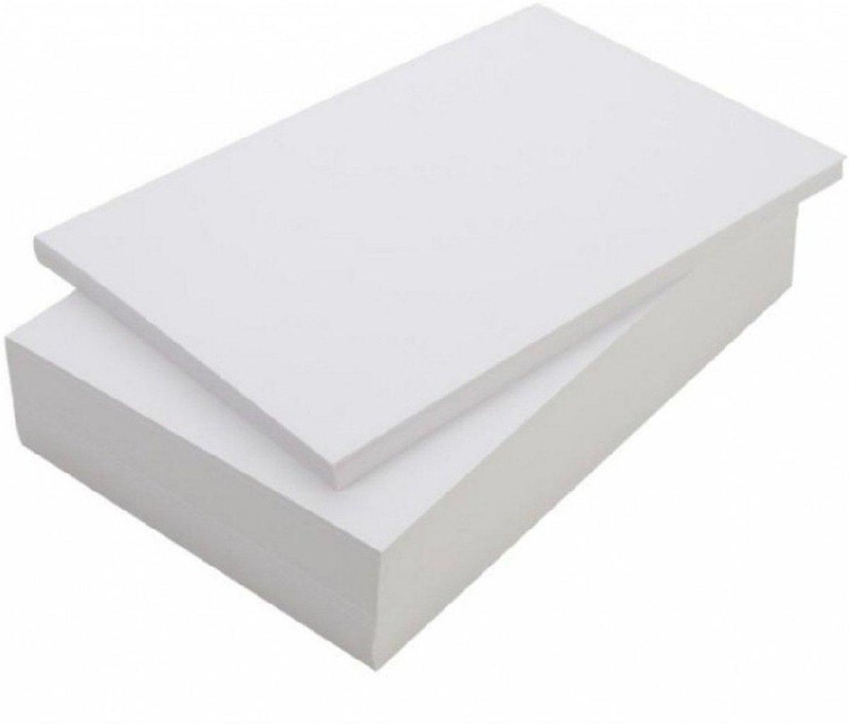 Print / kopieerpapier A4 2000 vellen - blanco printpapier kopen