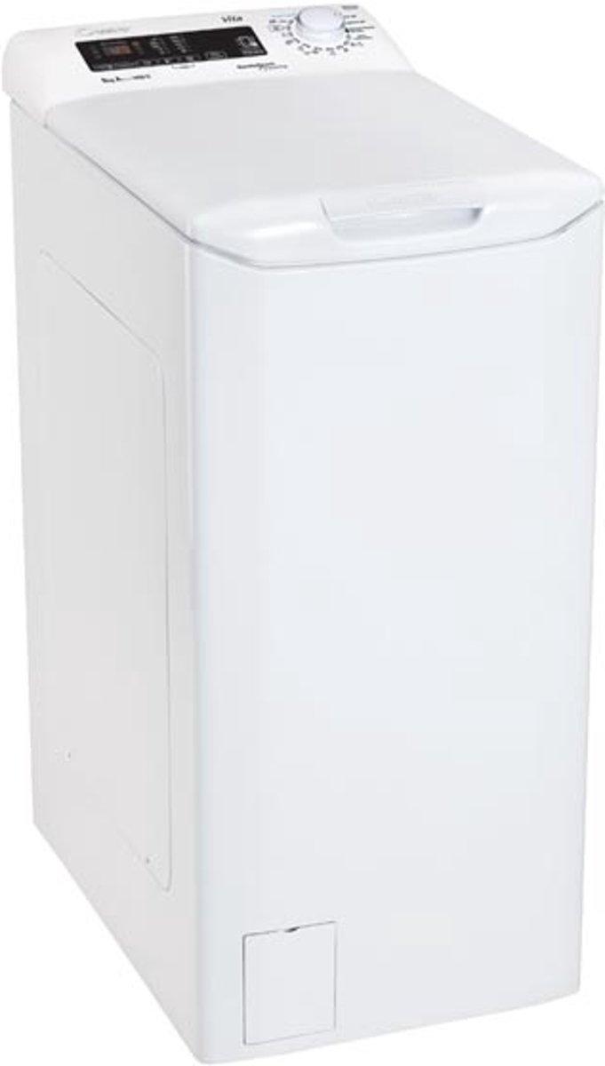 Candy CVST G384DM-S Vrijstaand Bovenbelading 8kg 1400RPM A+++ Wit wasmachine