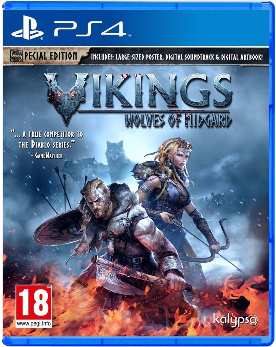 Vikings - Wolves of Midgard PlayStation 4