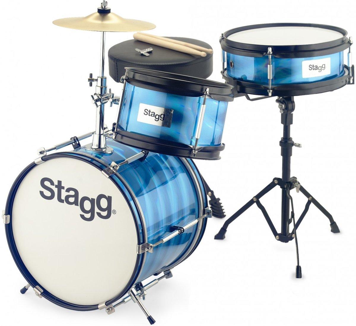 Stagg TIM JR 3/12B BL 3-delig junior drumset 12