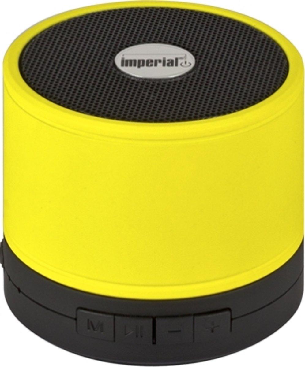 Imperial bluetooth speaker Bas 1 geel - microfoon kopen