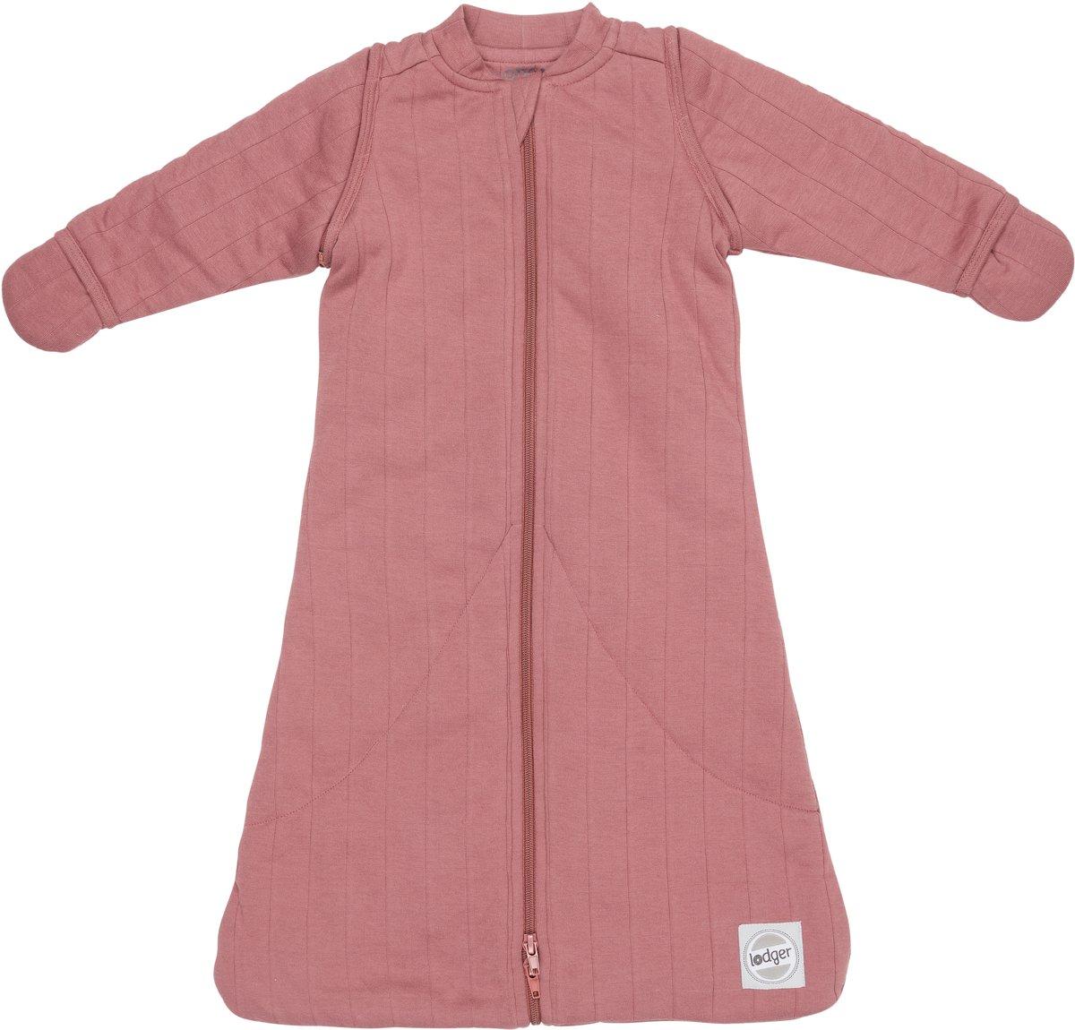 Lodger Baby slaapzak - Hopper Sleeves Solid - Roze - Lange mouw - 50/62