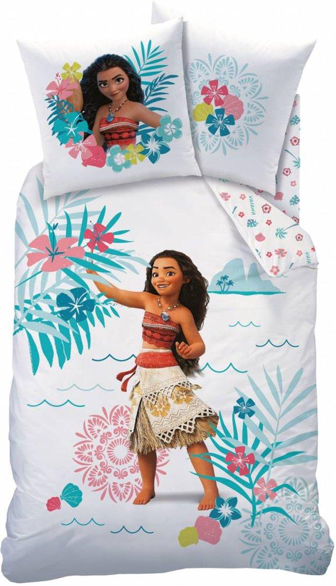 Disney Vaiana Alizee - Dekbedovertrek - Eenpersoons - 140 x 200 cm - Multi kopen
