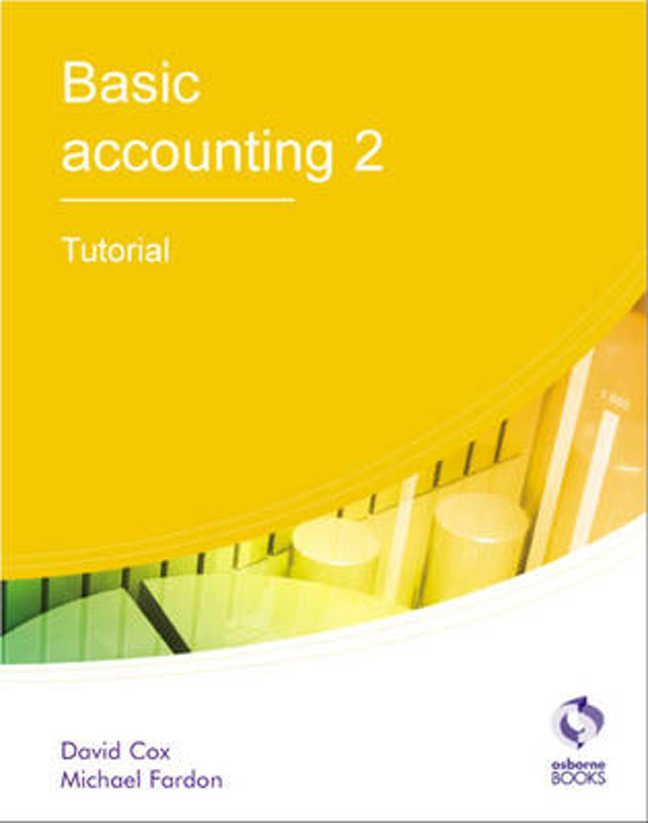 Afbeelding van product Basic Accounting 2 Tutorial  - David Cox