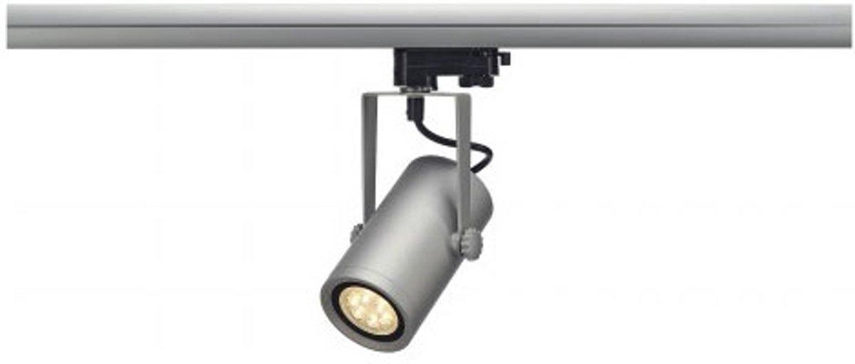 153934 Euro Spot Integrated LED, 13 W, 3000K, 15 Grad inklusive 3P, Adapter silbergrau kopen