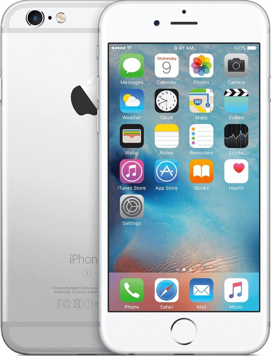 Apple iPhone 6s - 64GB - Refurbished - Licht gebruik (B Grade) - Zilver kopen
