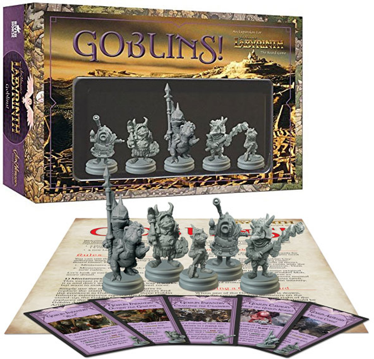 Jim Henson's Labyrinth: Goblins! Bordspel Uitbreiding
