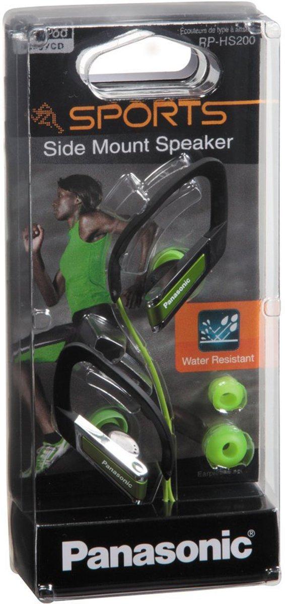 Panasonic RP-HS200 - Koptelefoon met clip - Groen kopen