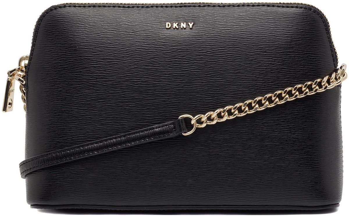 DKNY-Handtassen-Bryant Dome Crossbody-Zwart kopen