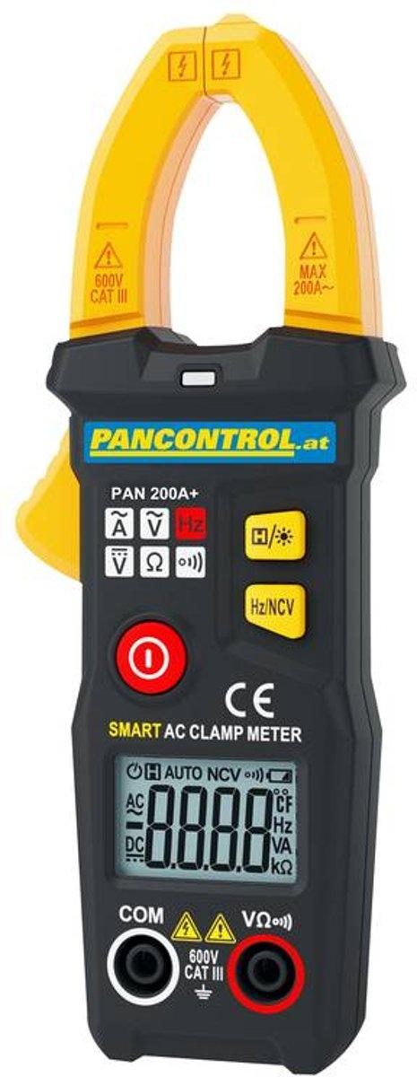 Pancontrol Multimeter tang PAN 200A+  met automatische functieselectie