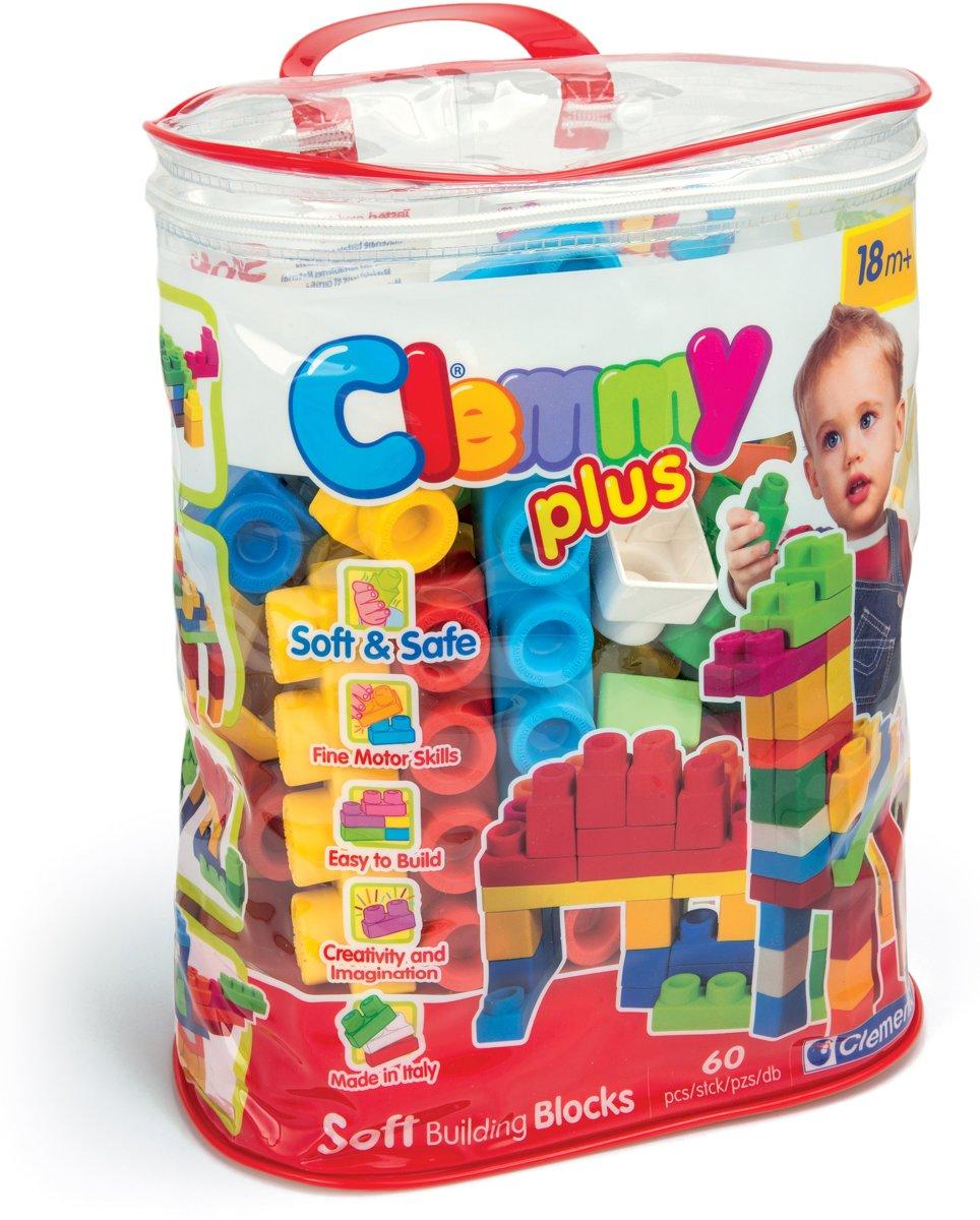 Clementoni Clemmy Plus tas met 60 zachte blokken kopen