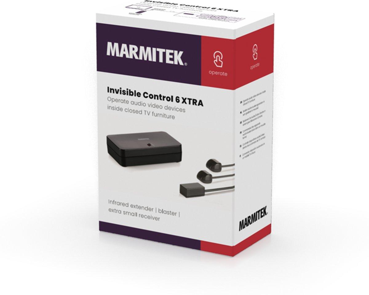 Marmitek Invisible Control 6 Xtra Infrarood Verlenger Zwart