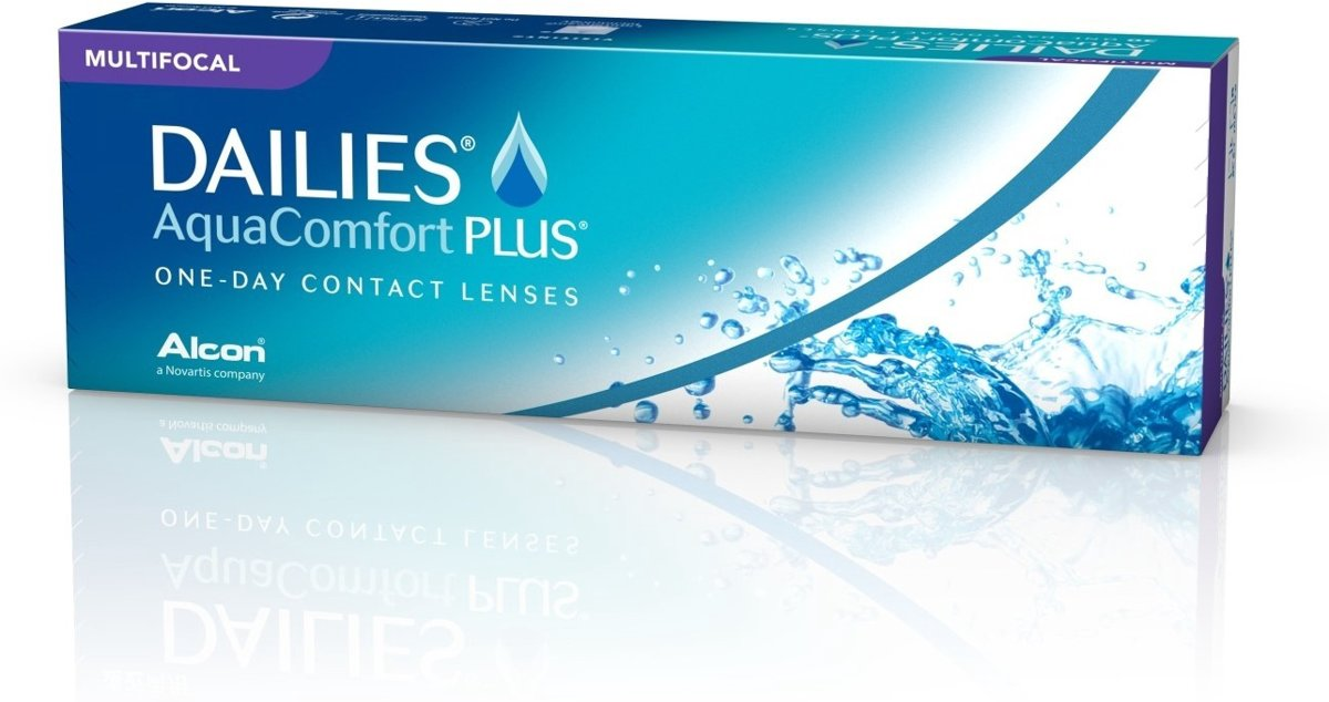 Foto van +0,25 Dailies All Day Comfort Multifocal HIG - 30 pack - Daglenzen - Contactlenzen
