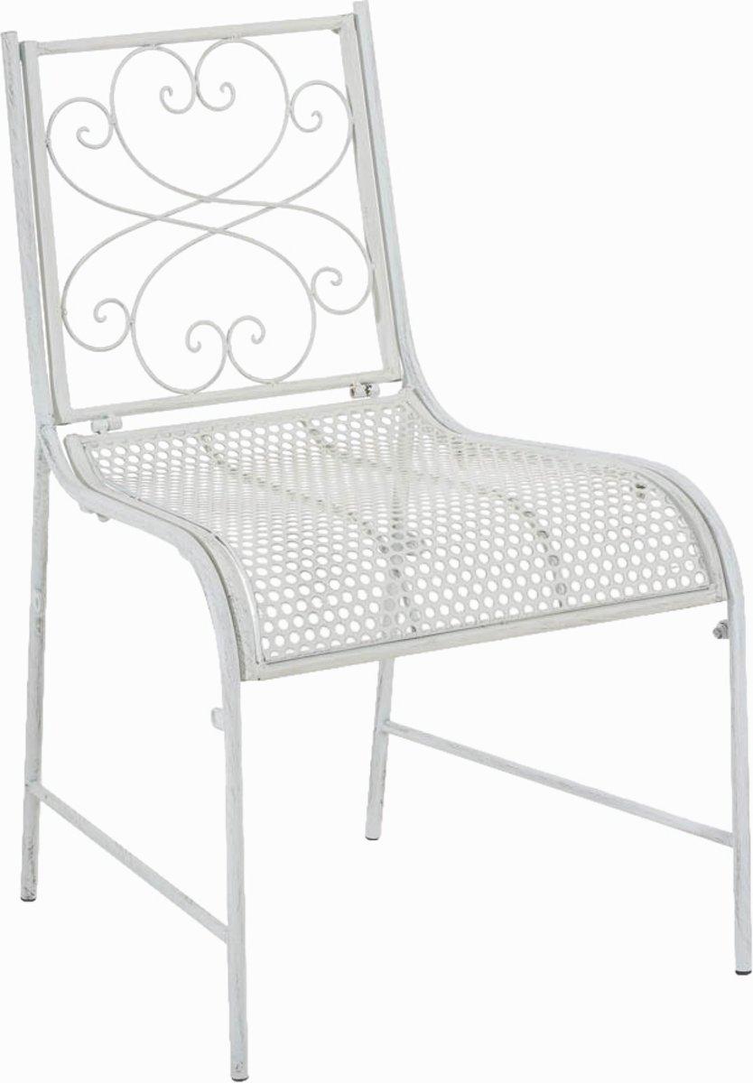 Clp Bistrostoel ALVA, tuinstoel, terrasstoel, balkonstoel, landhuis stijl, vintage, retro, country life stijl, antiek nostalgisch design, zithoogte 44