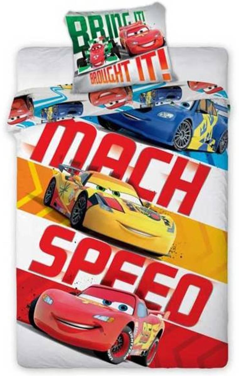 Disney Cars katoen dekbedovertrek 160x 200 cm - eenpersoons kopen