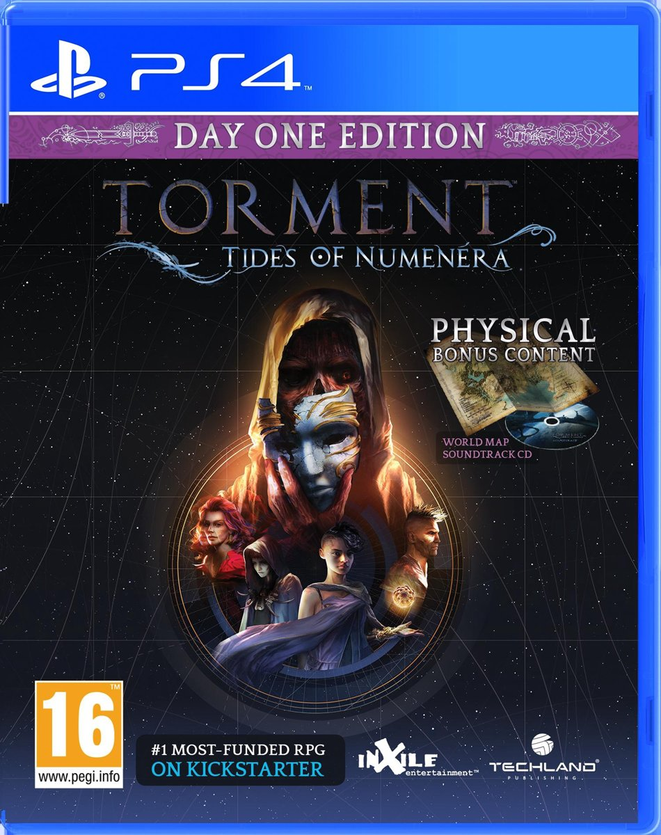 Torment - Tides of Numenera PlayStation 4