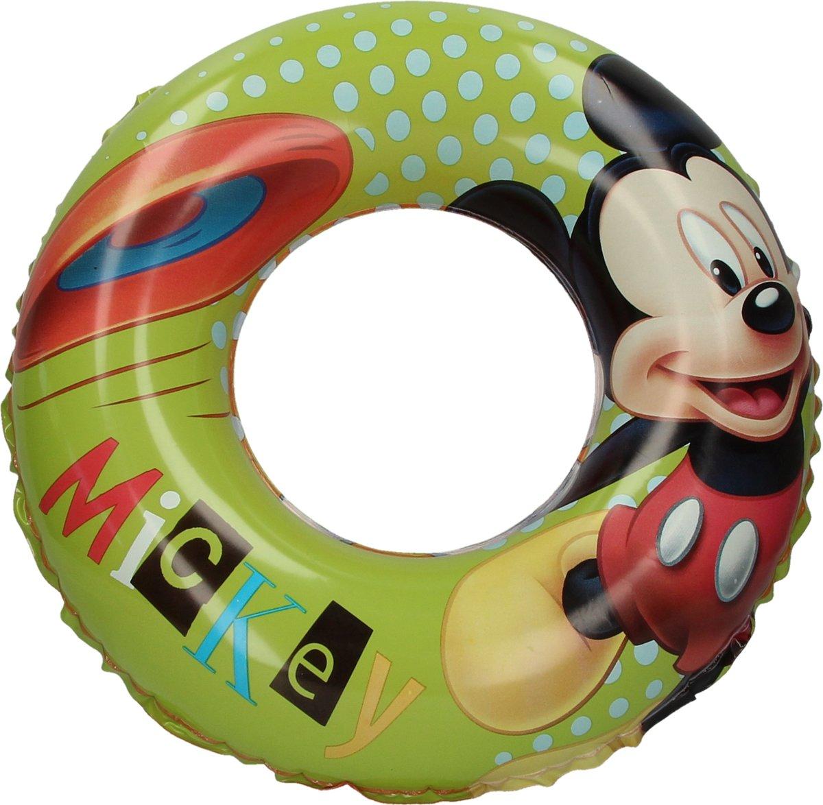 Mickey Mouse Disney Baby Zwemband - 51 cm | Opblaasbare Zwemring voor Kinderen