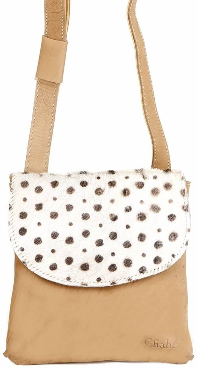 | Chabo Bags World Small Leopard Beige Beige