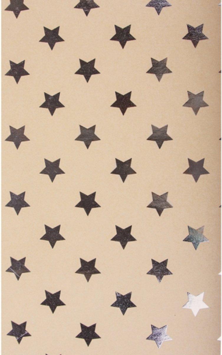 Hobby karton met zilveren sterren kopen