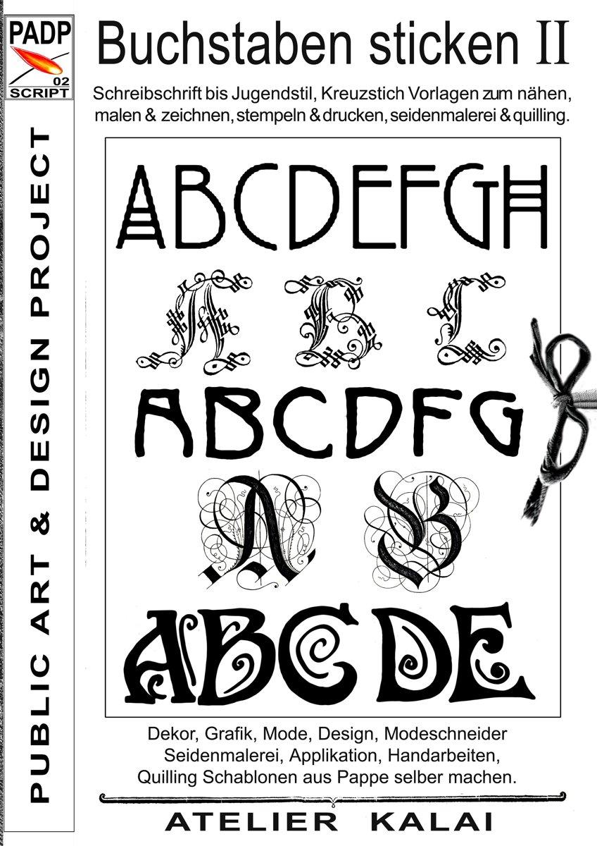 bol.com | PADP-Script 002: Buchstaben sticken II (ebook ...
