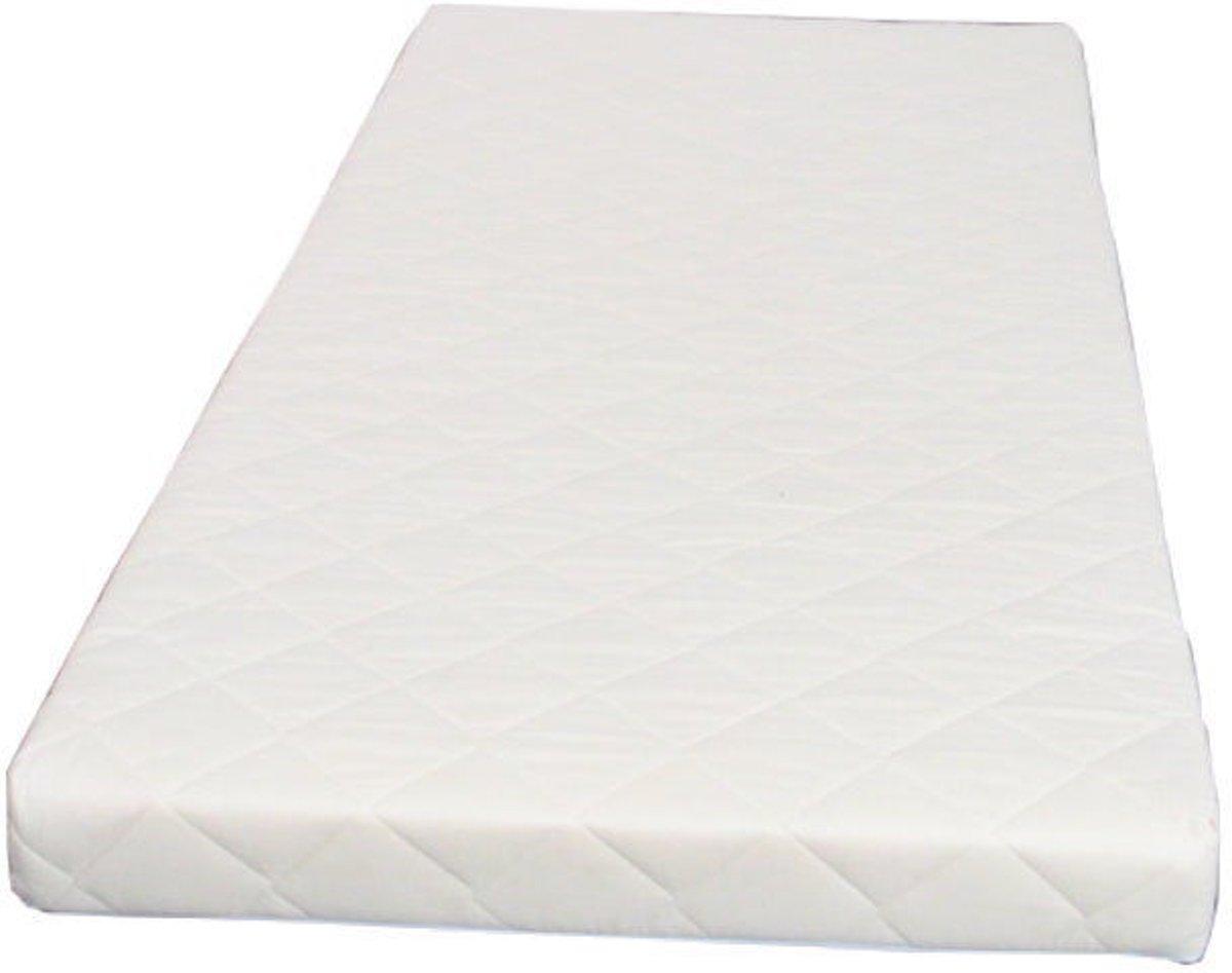 Hioshop - Schuimmatras - 90x200 cm - Offwhite kopen