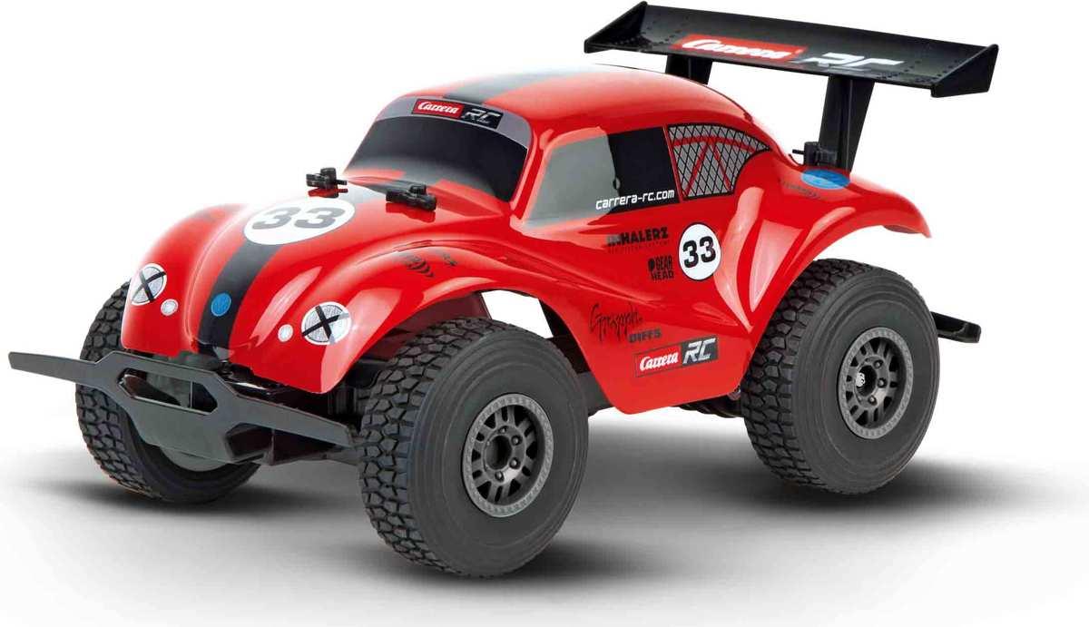 Carrera VW Beetle, rood - Bestuurbare auto