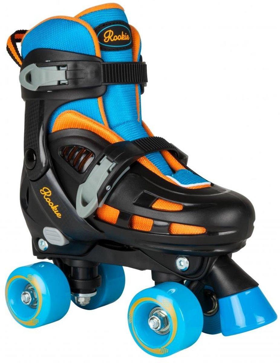 Rookie Skates Duo Verstelbaar Blauw/zwart Maat 25.5-29 kopen