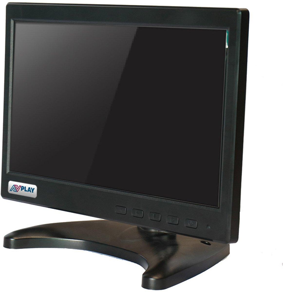 10,1 inch IPS VGA scherm voor bewakingscamera