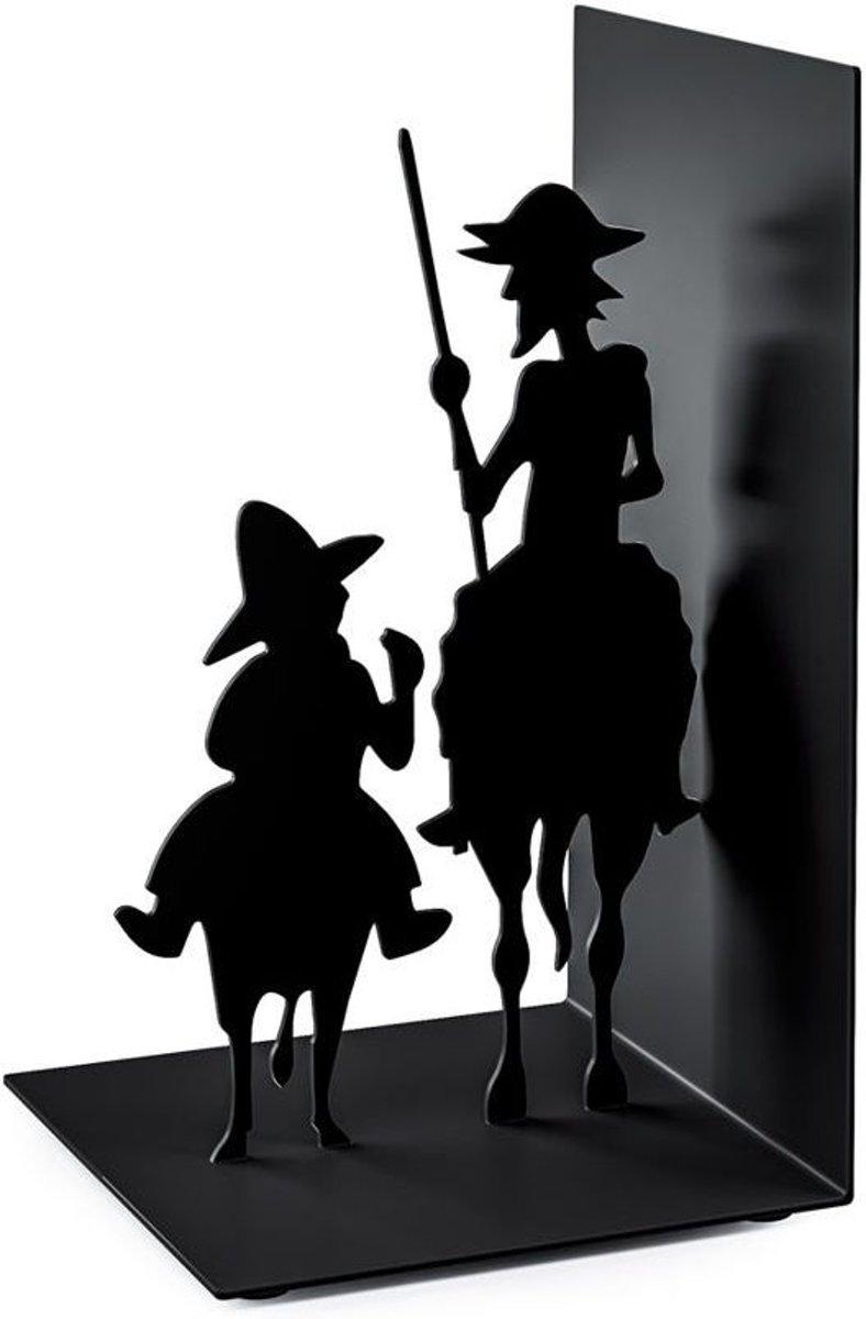 Balvi boekensteun Don Quijote zwart metaal kopen