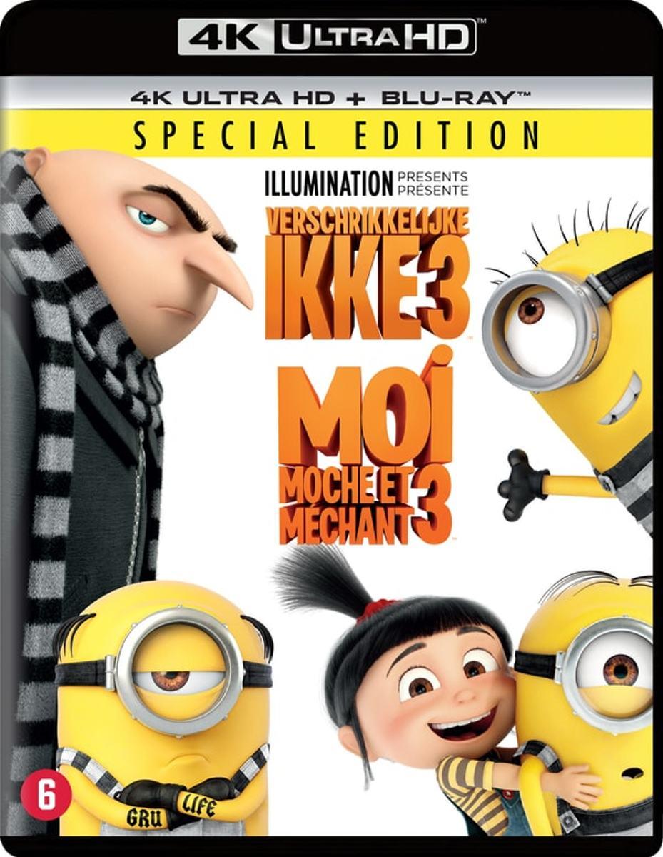 Verschrikkelijke Ikke 3 (Despicable Me 3) (4K Ultra HD Blu-ray)-