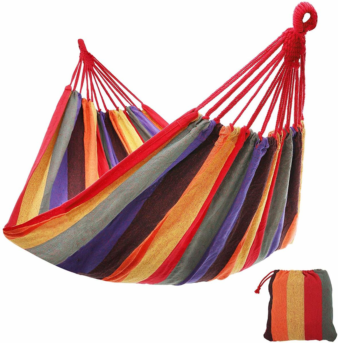 Plant&More - Hangmat - Multi Colour - Rood