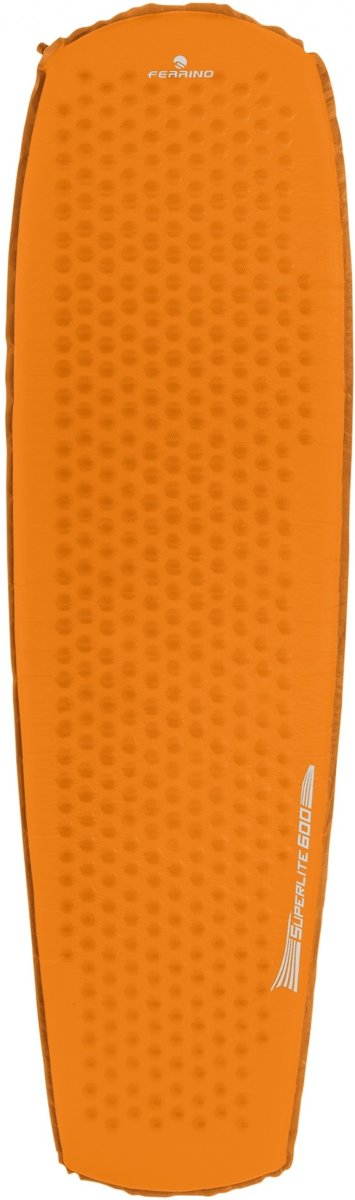 Ferrino Luchtbed Superlite 600 183 X 51 Cm Oranje/grijs kopen