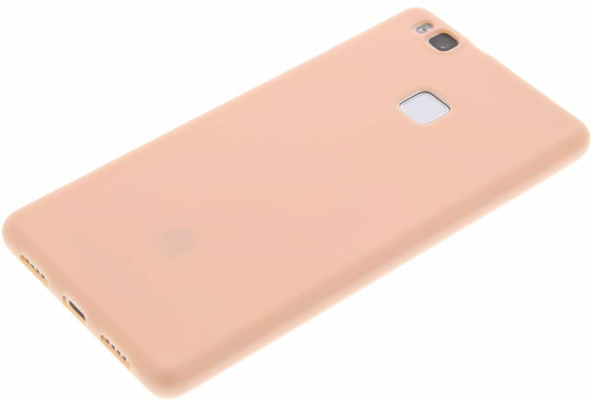 Poudre De Couleur Rose Cas De Tpu Pour Huawei P9 8r9EYN0