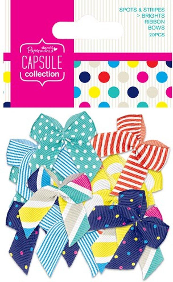 Linten Strikken  (20stuks) - Capsule - Spots & Stripes Summer Brights kopen