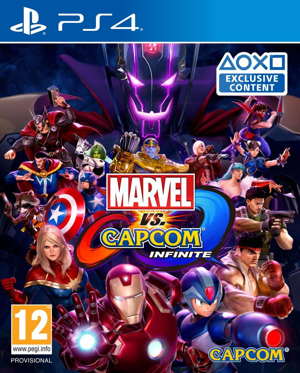 Marvel versus Capcom Infinite PlayStation 4