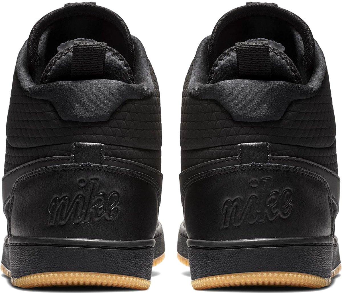 Nike Ebernon Mid Winter Sneakers Heren Sneakers Maat 40 Mannen zwart