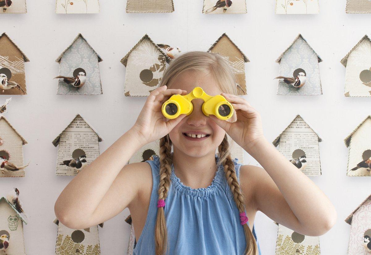 Kinderkamer Behang Vogelhuisjes : Bol studio ditte behang vogelhuisjes