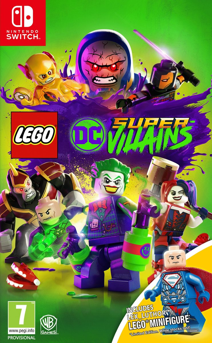 LEGO DC Super Villiains - Limited Edition Switch
