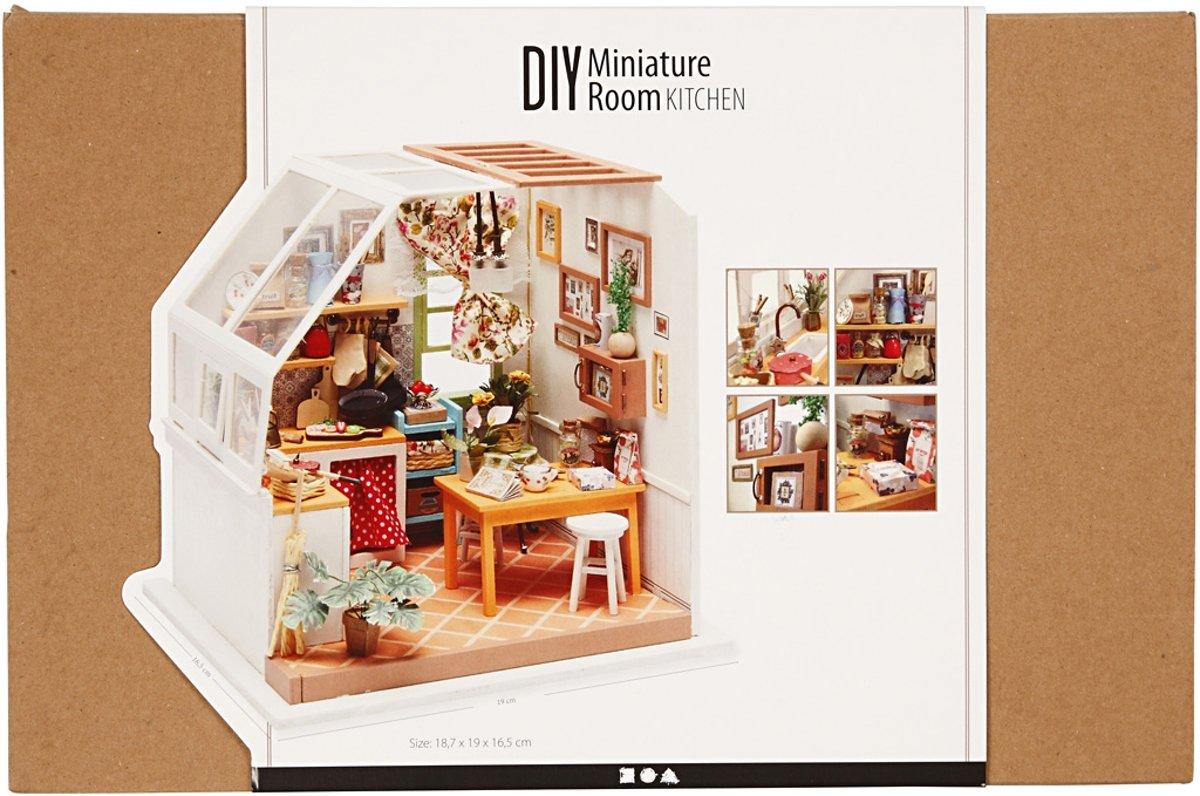 Miniatuur Design Meubels : Bol diy miniatuur kamer h cm b cm stuk