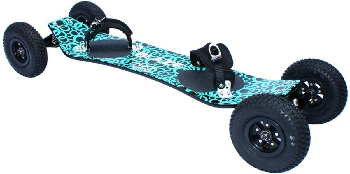 Next Generation Longboard Blaze 90 X 35 Cm Blauw kopen
