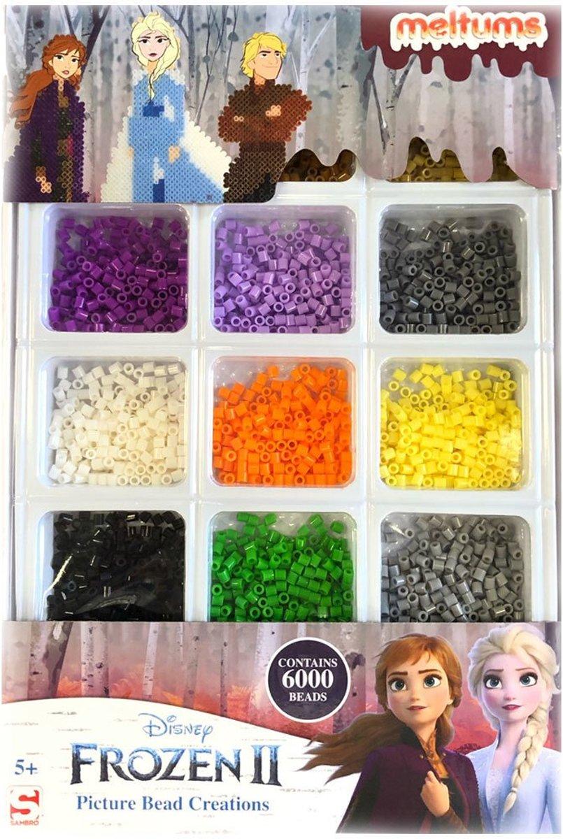 Disney Frozen II - Kralenset - 6000 strijkkralen
