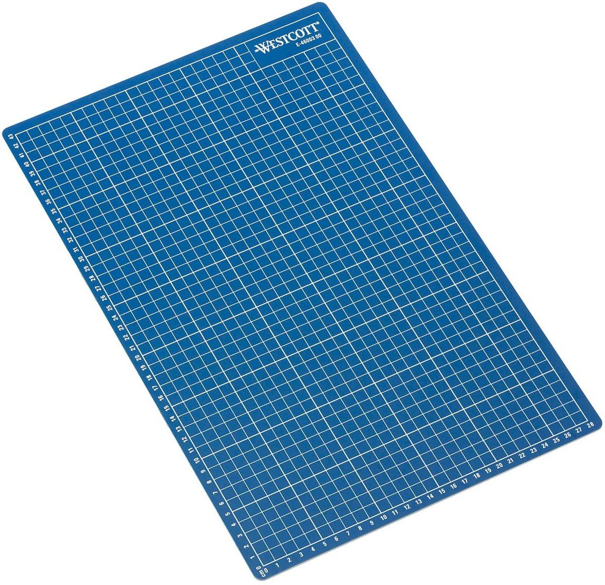 6x Westcott snijmat blauw A3 kopen
