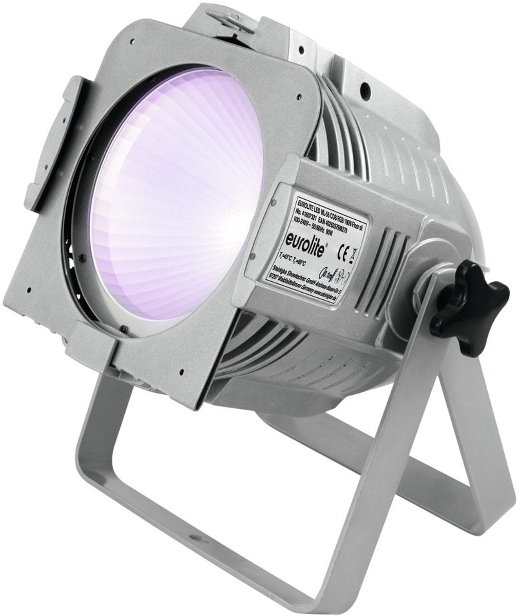 EUROLITE LED ML-56 COB RGB 100W vloer zwart - LED Par kopen