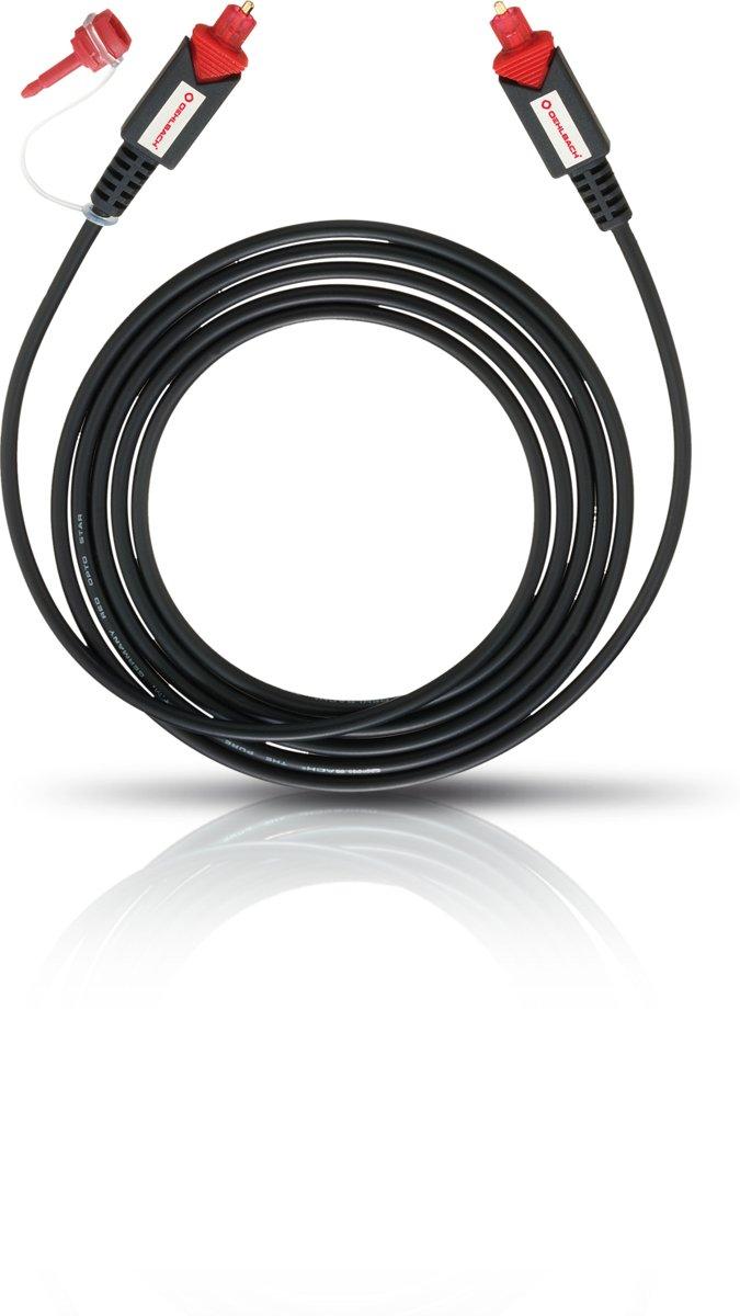 OEHLBACH Red Opto Star Optische digitale kabel 1,5 m zwart kopen