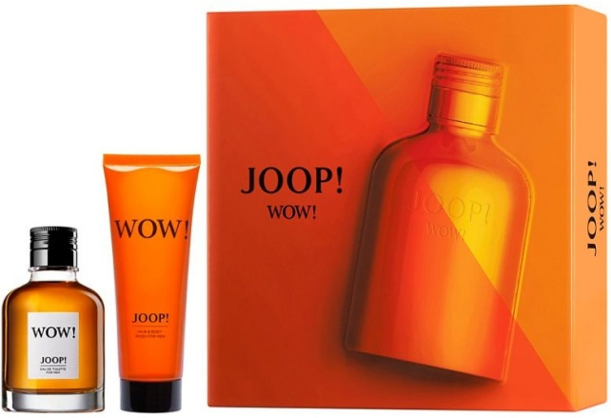 | Joop! Wow Giftset 60 ml eau de toilette spray +