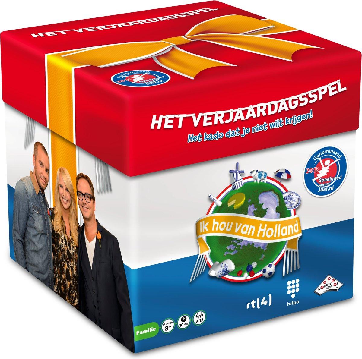 Ik Hou van Holland Verjaardagsspel - Gezelschapsspel