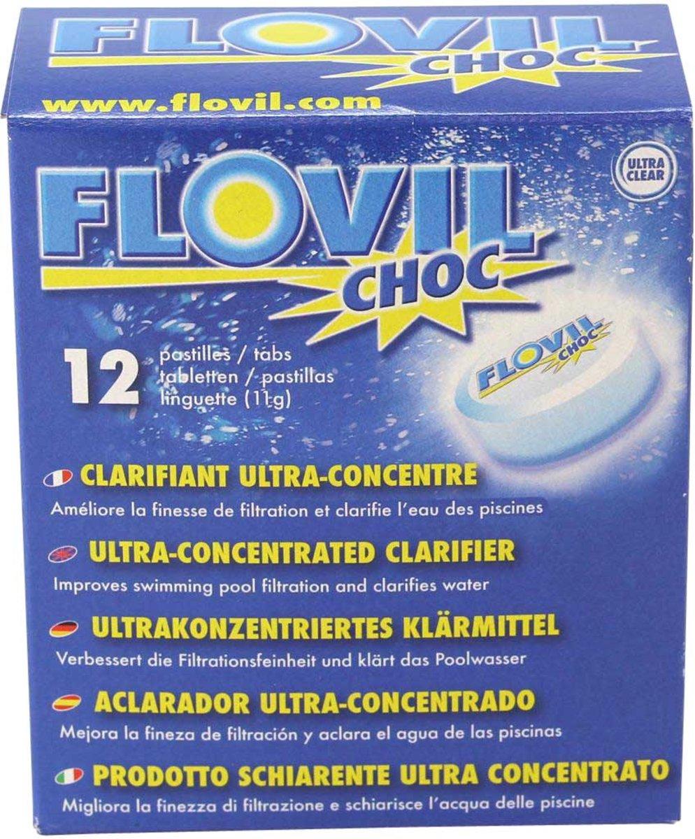 Flovil Choc vlokkingsmiddel 12 tabletten